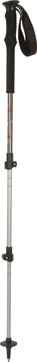 Палки для трекинга Vento Pulse, цвет: серый, 60-135 см
