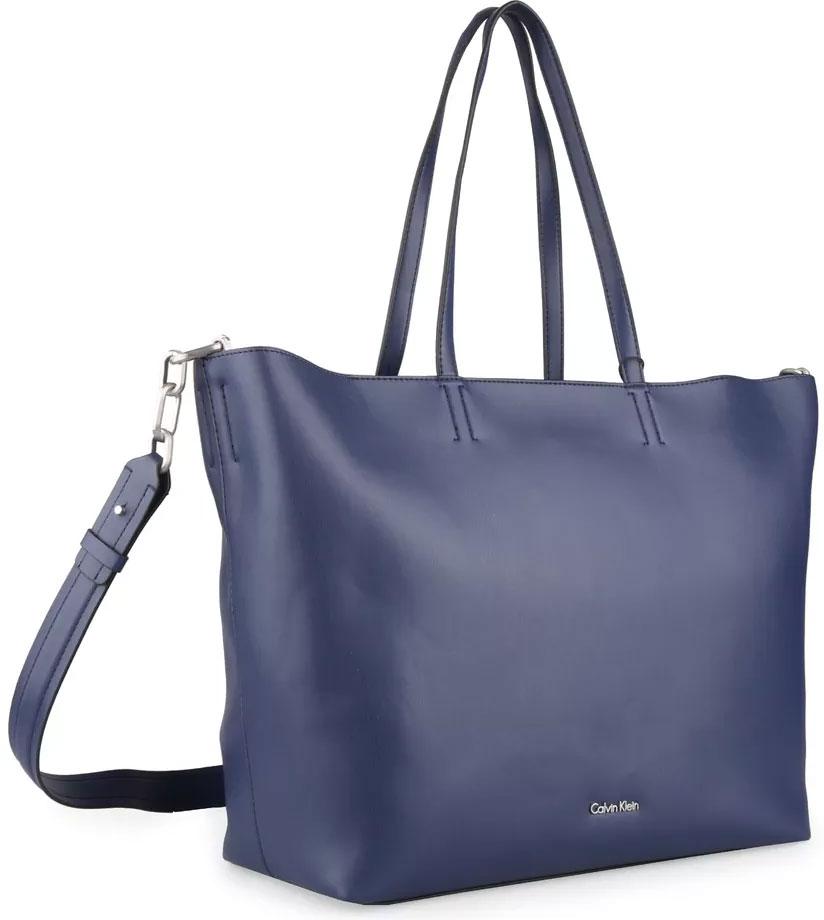 Сумка женская Calvin Klein Jeans, цвет: синий. K60K603880/430 рубашка женская calvin klein jeans цвет синий j20j209111 9110 размер s 42 44