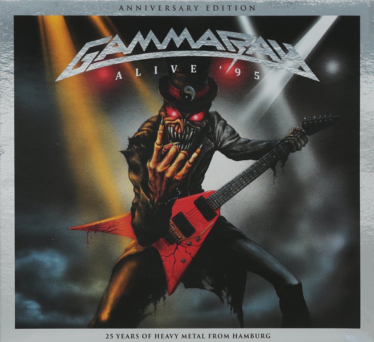 Gamma Ray Gamma Ray. Alive' 95 (2017 reissue) (2 CD) gamma ray gamma ray the best of 4 lp