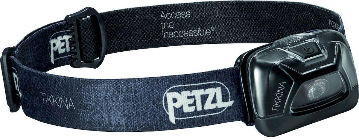 Фонарь налобный Petzl Tikkina, LED, цвет: черный