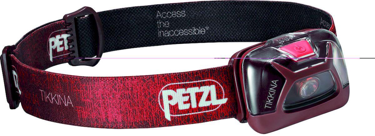 Фонарь налобный Petzl Tikkina, LED, цвет: красный задний габаритный фонарь с зарядкой topeak redlite mini usb tms078