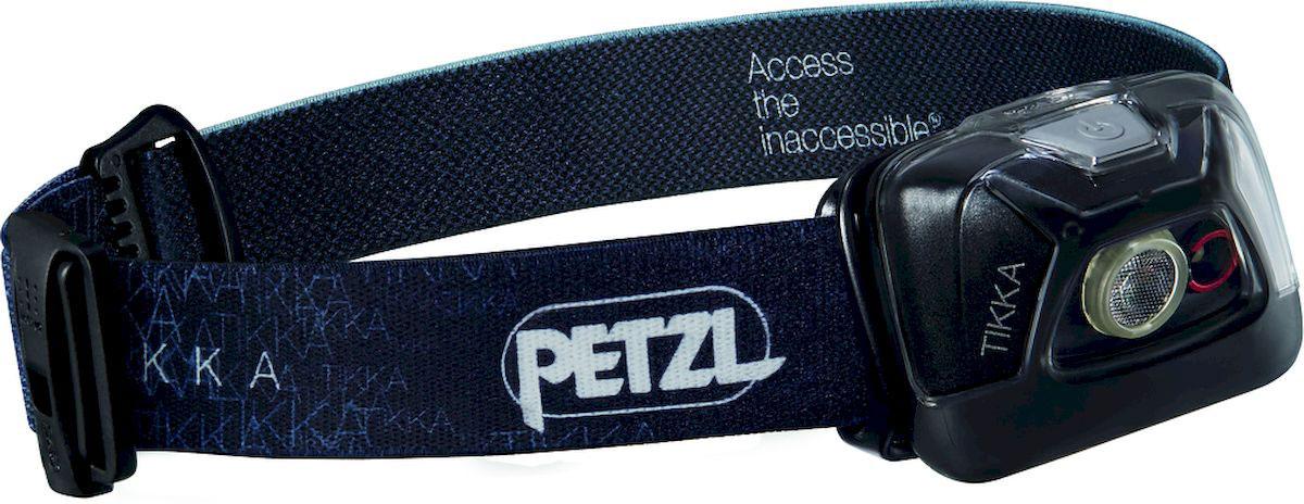 цена на Фонарь налобный Petzl Tikka, LED, цвет: черный