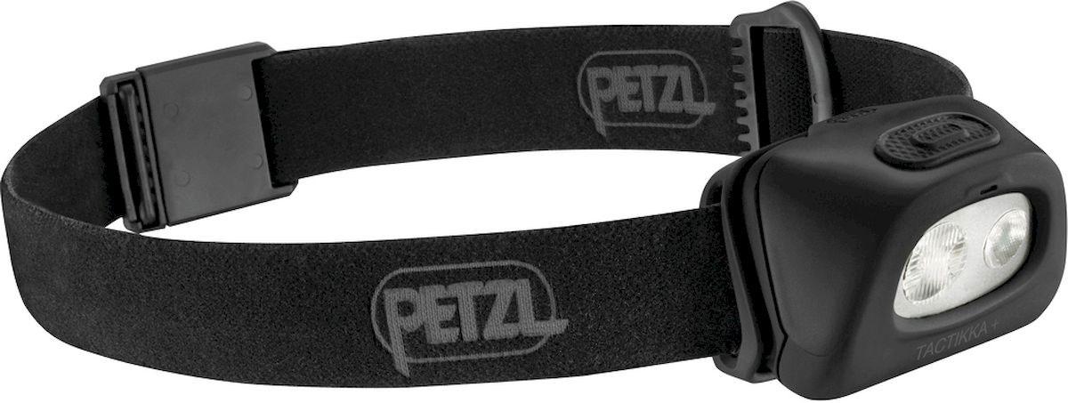 Фонарь налобный Petzl Tactikka, LED, цвет: черный