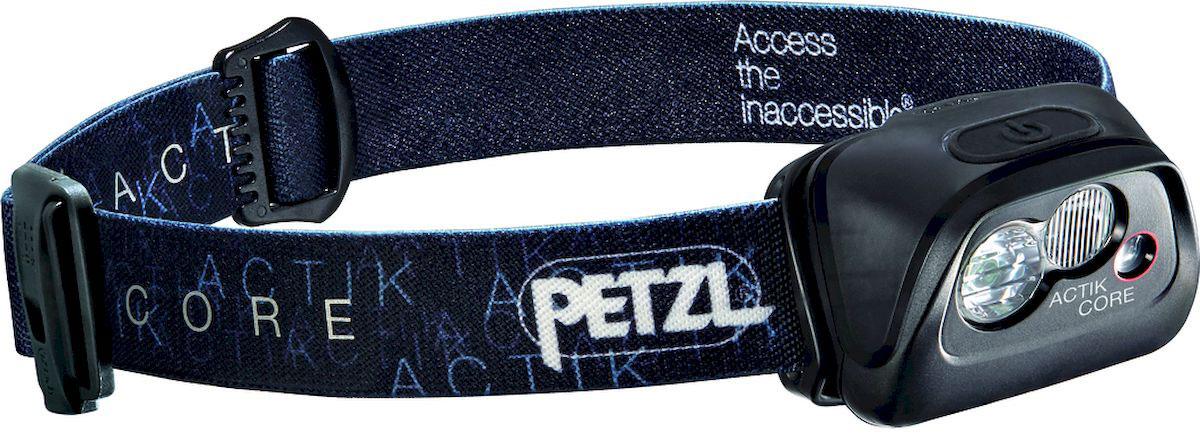 Фонарь налобный Petzl Actik Core, LED, цвет: черный