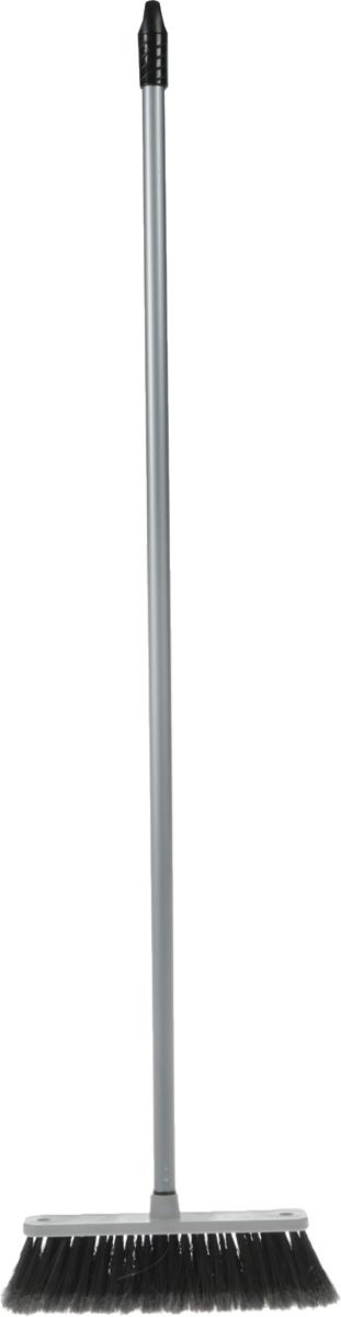 Щетка для пола Svip Арианна, с ручкой, цвет: серебряный стеклоочиститель svip с водосгоном цвет аметист желтый длина 20 см
