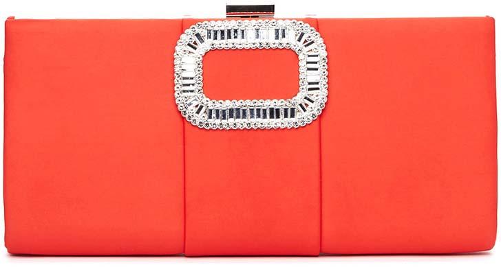 Клатч женский Vitacci, цвет: красный. C0199 клатч vitacci vitacci vi060bwckax5