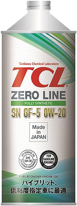 "Масло моторное TCL ""Zero Line"", синтетическое, SAE 0W20, API SN/GF-5, 1 л"