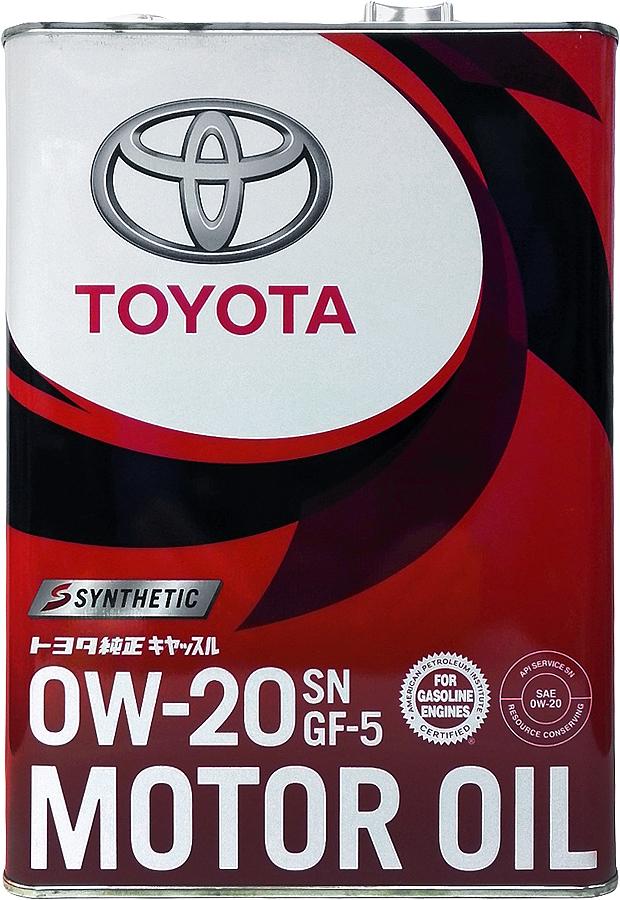 Масло моторное Toyota