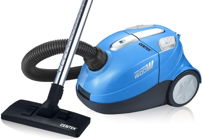 Centek CT-2508, Blue Chrome пылесос пылесос centek ct 2525