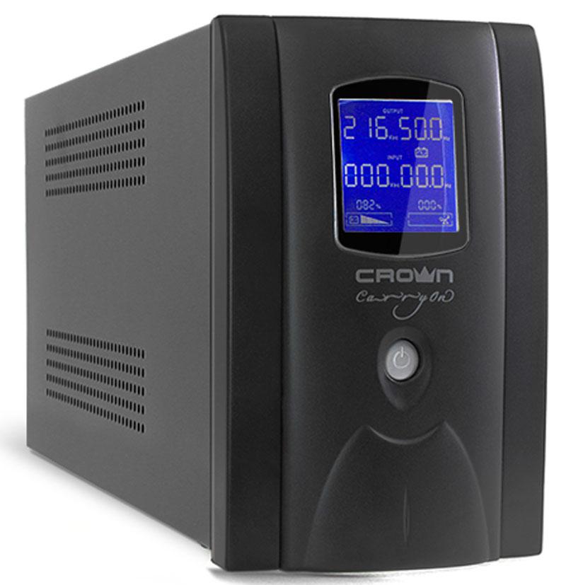 ИБП Crown Micro CMU-SP800EURO LCD 800VA\450W цена