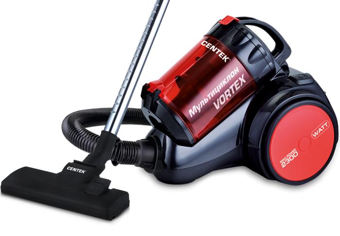 Centek CT-2524, Black Red пылесос стоимость