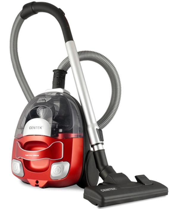 цена на Centek CT-2535, Red Black пылесос
