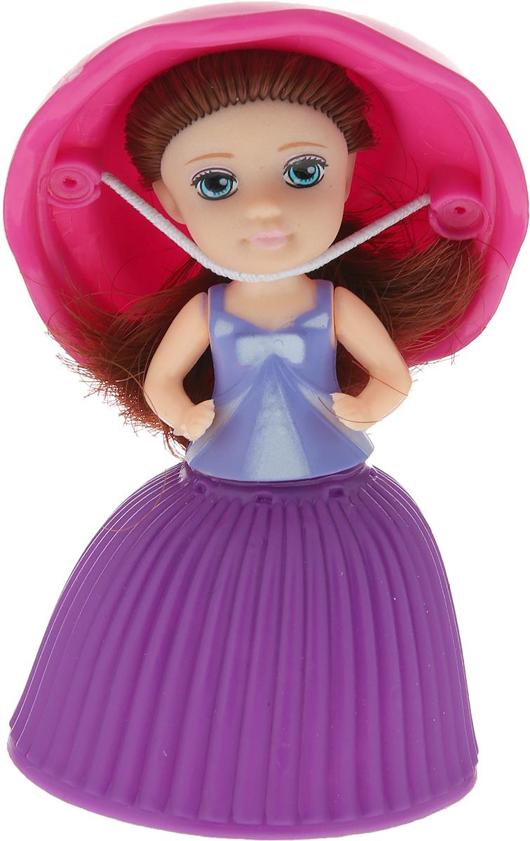 1TOY Кукла-трансформер Пироженка-Сюрприз Mini цвет фиолетовый розовый 1toy труба цвет розовый