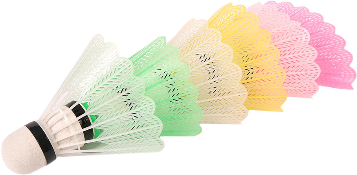 Набор воланов для бадминтона Magic Home, цвет: разноцветный, 6 шт