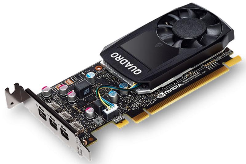 Видеокарта PNY NVIDIA Quadro P400 2GB, VCQP400DVI-PB