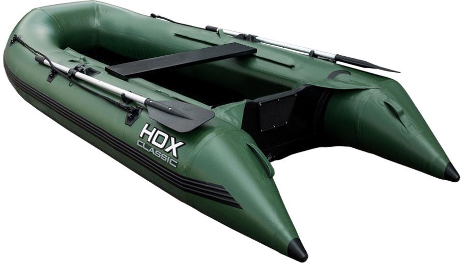 Лодка надувная HDX Classic 240 P/L, цвет: зеленый. 67861