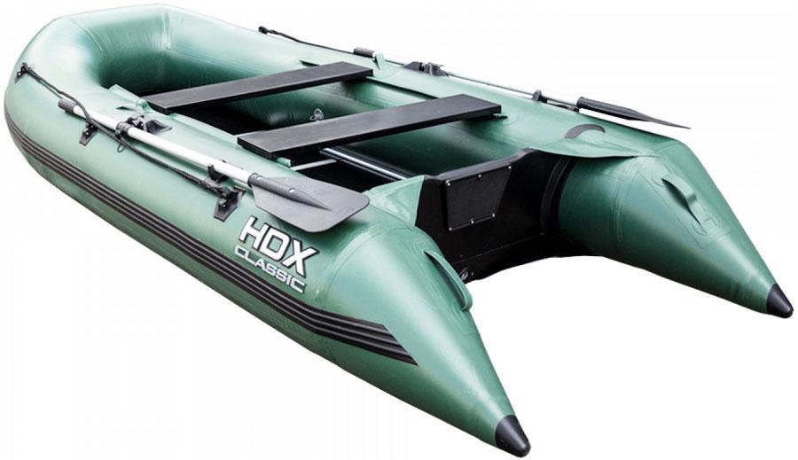 цена на Лодка надувная HDX Classic 300 P/L, цвет: зеленый. 67865