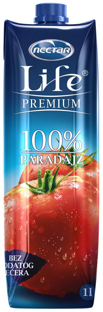 Life Premium Сок томатный, 1 л 4 сезона сок томатный 1 л