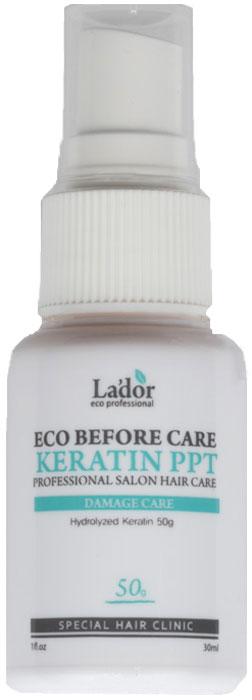Lador Before Keratin PPT Спрей с кератином, 30 мл lador before keratin ppt спрей для волос кератиновый 30 мл