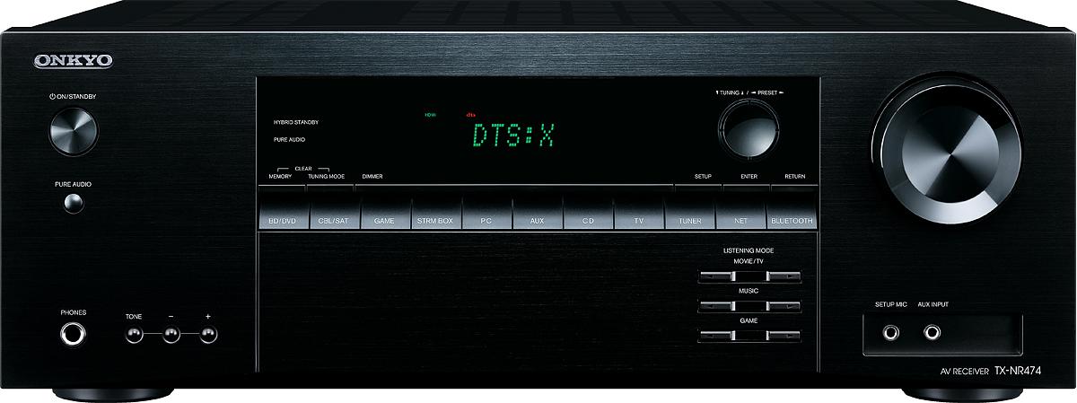 Onkyo TX-NR 474, Black AV-ресивер onkyo tx sr343 black