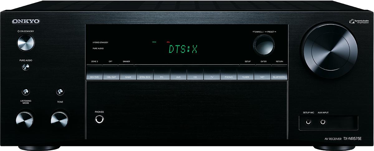Onkyo TX-NR 575, Black AV-ресивер onkyo tx sr343 black