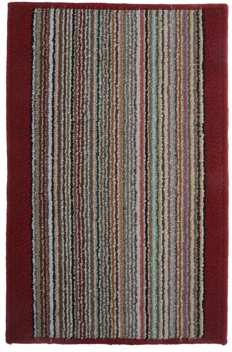 """Коврик для ванной Vortex """"Baden"""", цвет: красный, 38 х 58 см. 21078"""