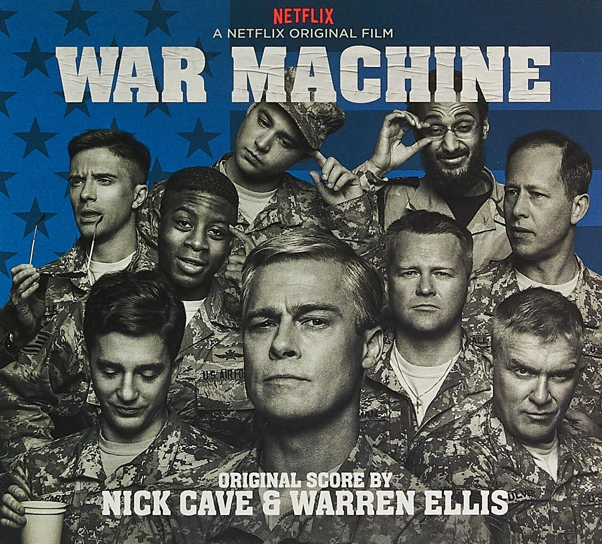 Ник Кейв,Уоррен Эллис Nick Cave & Warren Ellis. War Machine (A Netflix Original Series Soundtrack) (CD) виниловая пластинка nick cave ellis warren kings ost