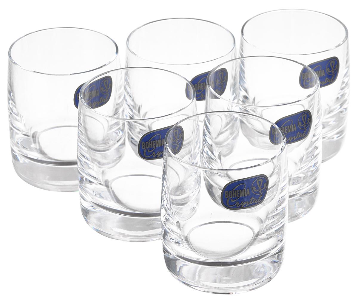 Набор стопок для водки Bohemia Crystall Идеал, 60 мл, 6 шт бокалы злата bohemia crystall