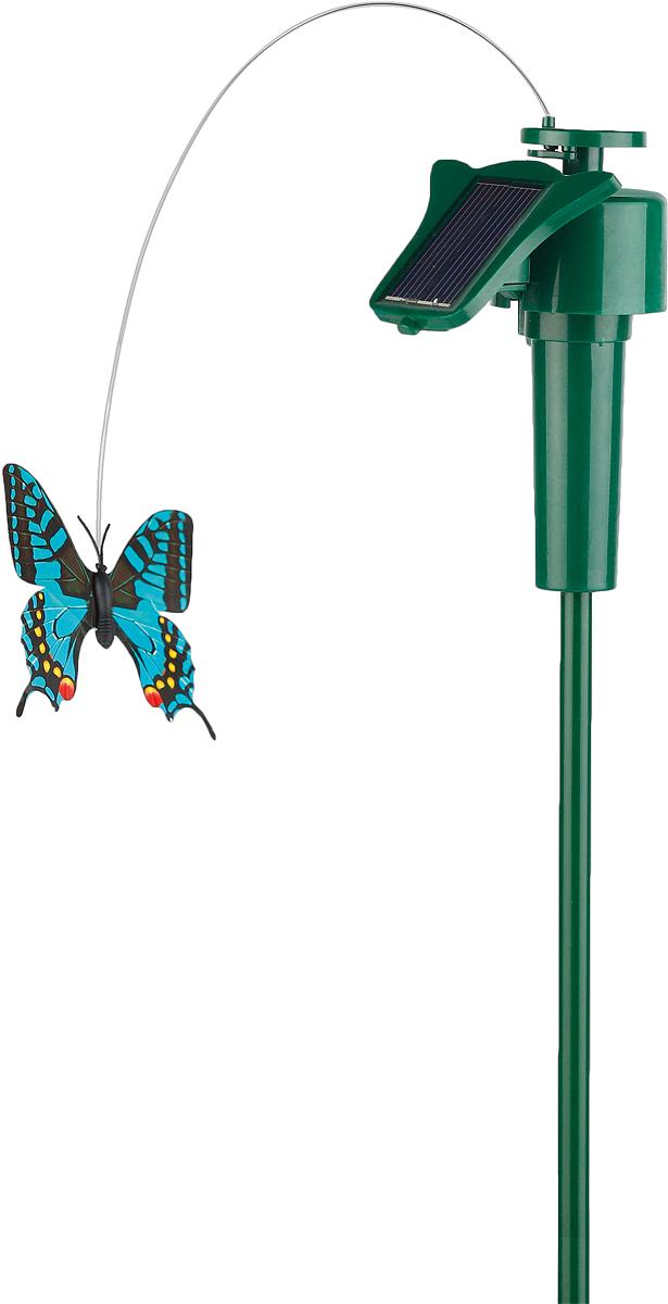 цена на Светильник садовый ЭРА Электротовары Порхающая бабочка, на солнечной батарее, 42 см
