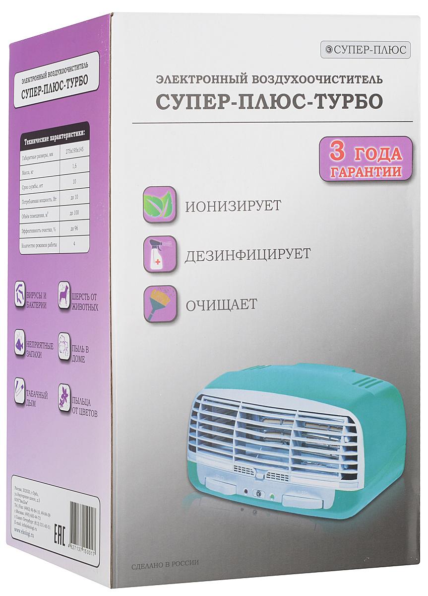 Супер Плюс Турбо очиститель-ионизатор воздуха Супер Плюс