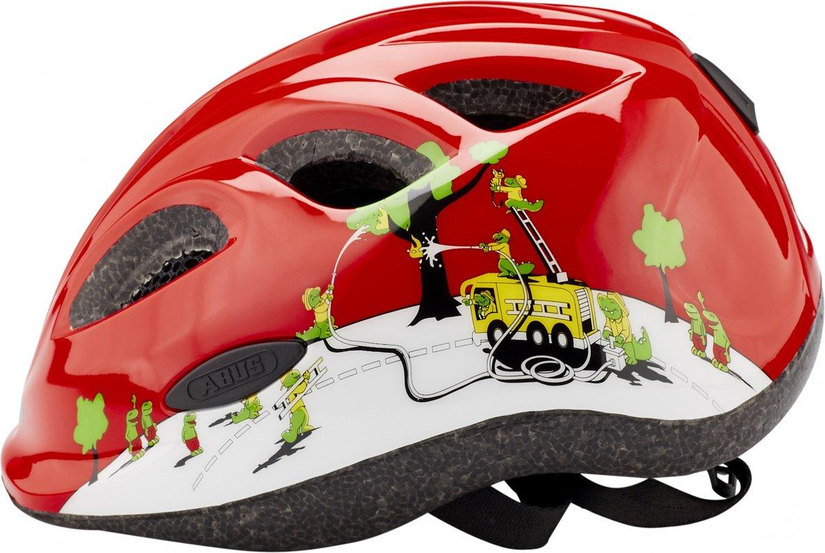 Велошлем детский Abus Smiley. Крокодилы. Размер S (45-50) велошлем детский abus smiley пчелы размер m 50 55