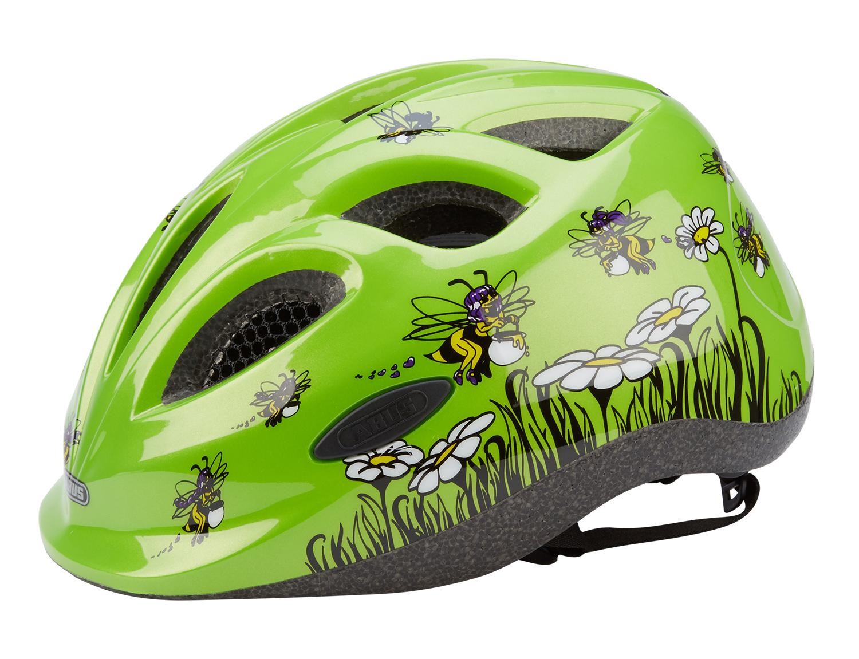 Велошлем детский Abus Smiley. Пчелы. Размер M (50-55)395499_ABUSКачественный велосипедный шлем от немецкого производителя ABUS Smiley для детей. Точная регулировка шлема по размеру колесиком, защитная сетка от насекомых и веток, отражающие элементы для пассивной безопасности.