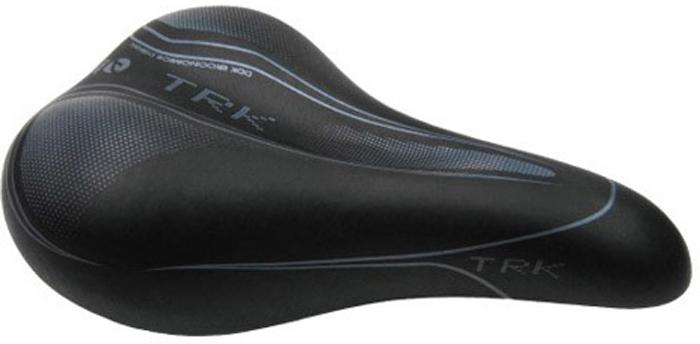 Седло велосипедное DDK D222, женское, цвет: черный, серый