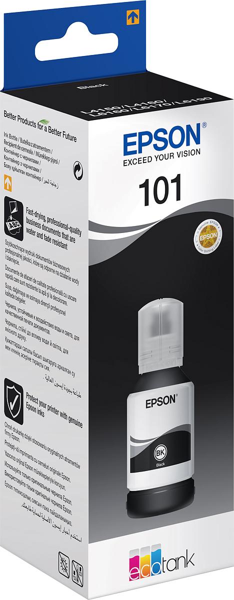 Чернила Epson 101 (C13T03V14A), черный Epson