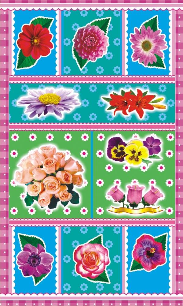 ЛиС Наклейки Цветы НГ-1549 лис наклейки джипы нг 1543