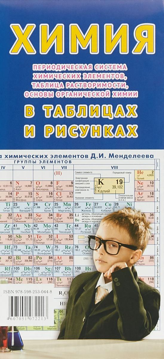 Химия в таблицах и рисунках. Складная карта гаршин а общая и неорганическая химия в схемах рисунках таблицах химических реакциях учебное пособие 2 е издание