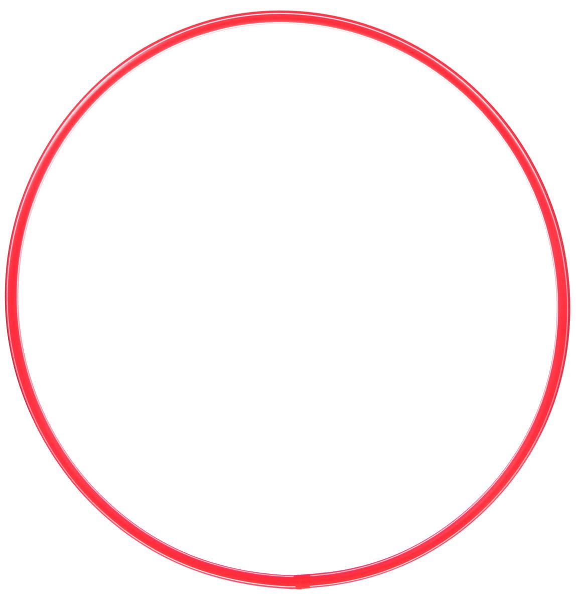 Затейники Обруч цвет красный 70 см