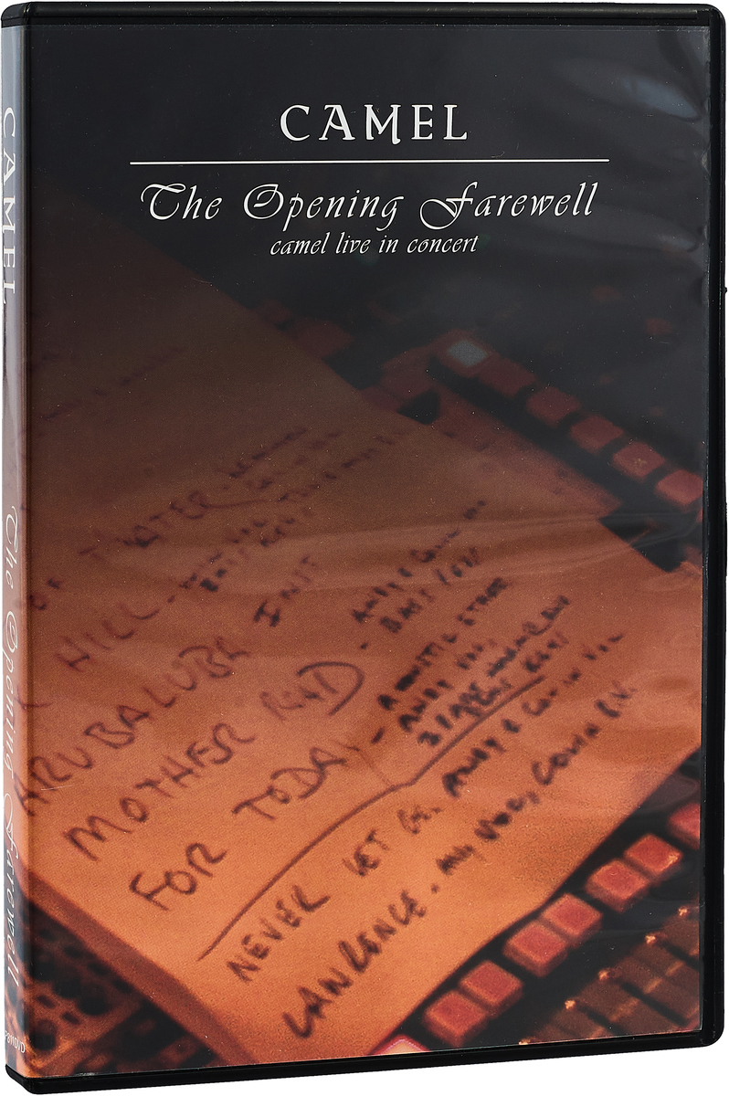 Camel Camel. The Original Farewell Live In Concert (DVD) camel total pressure live in concert 1984