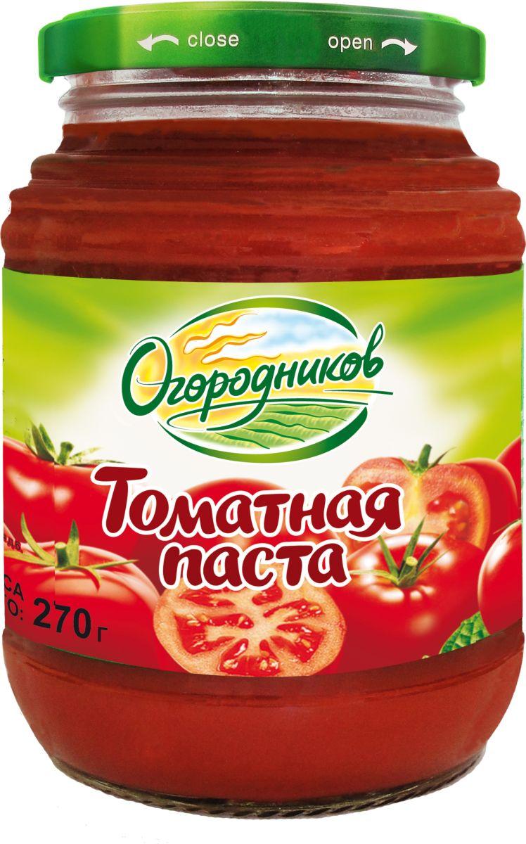 Огородников Паста томатная оригинальная, 270 г тони моли томатная