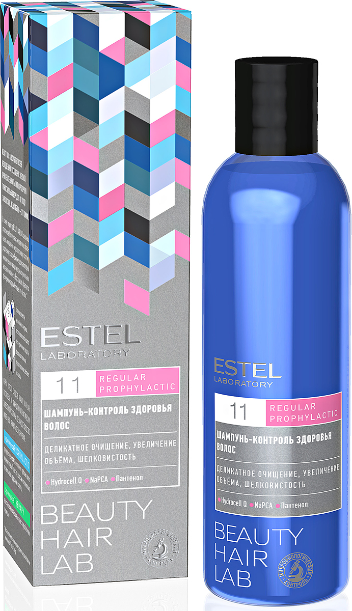 Шампунь-контроль здоровья волос ESTEL BEAUTY HAIR LAB 250 мл BHL/12 спрей push up для волос estel beauty hair lab 100 мл bhl 15