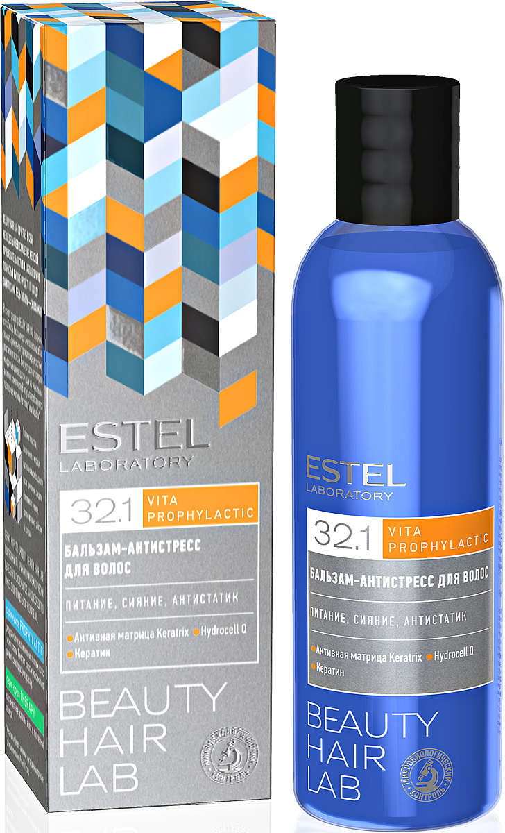 Бальзам-антистресс для волос ESTEL BEAUTY HAIR LAB 200 мл BHL/19 спрей push up для волос estel beauty hair lab 100 мл bhl 15