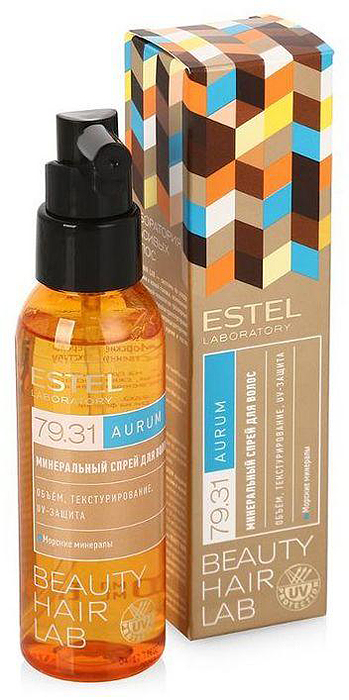 Минеральный спрей для волос ESTEL BEAUTY HAIR LAB AURUM 100 мл BHL/A4 спрей push up для волос estel beauty hair lab 100 мл bhl 15