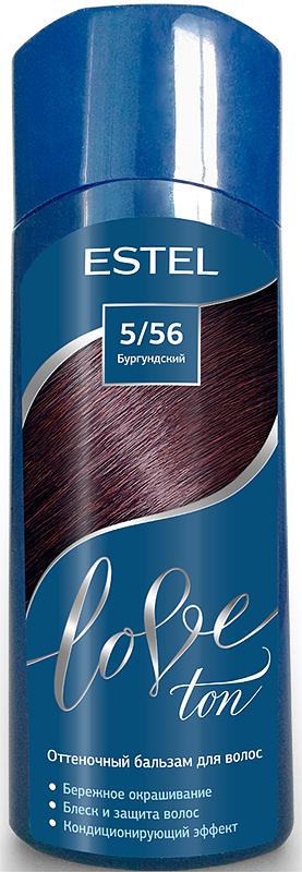 Оттеночный бальзам для волос Estel Love Ton 5/56 Бургундский LT5/56