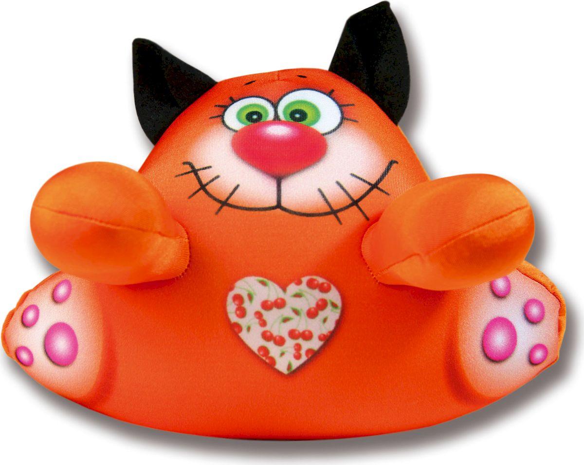Штучки, к которым тянутся ручки Игрушка для ванной Аква крошки Кот цвет оранжевый15аси17ив-2Аква крошки Кот - игрушка для купания! Заведите яркого друга для игр в ванной! Мягкая антистрессовая игрушка - это уникальное притягивающее к себе внимание изделие, приятное на ощупь, красивое и яркое.