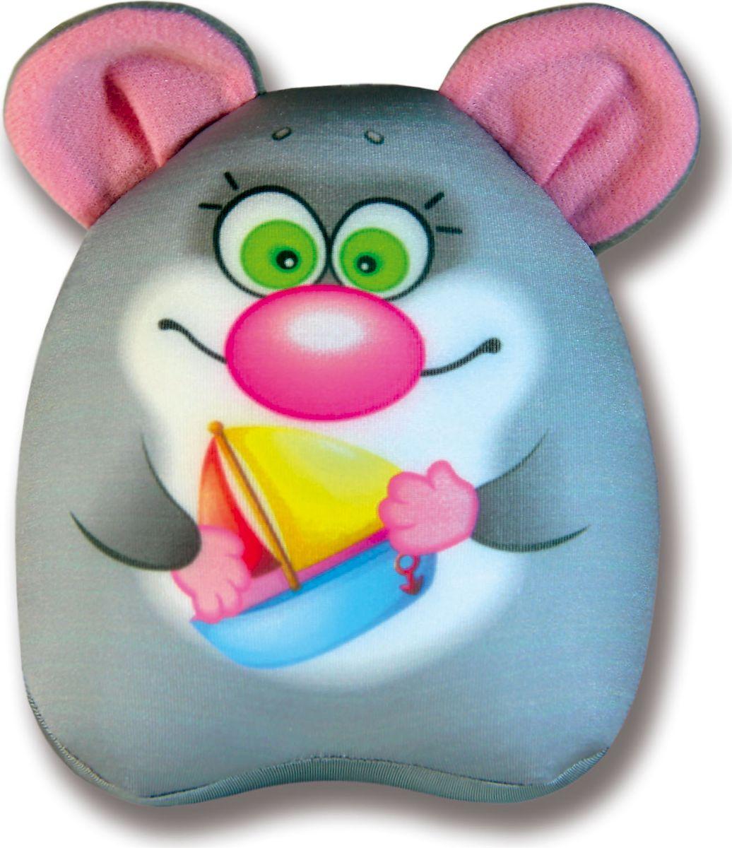 Мягкая игрушка Штучки, к которым тянутся ручки антистрессовая Водоплавчики. Мышь серый