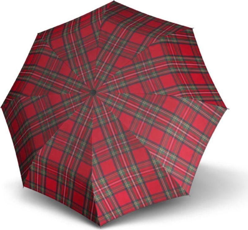 Зонт женский Doppler, автомат, 3 сложения, цвет: красный. 7447622 зонт трость женский doppler цвет красный 714765l