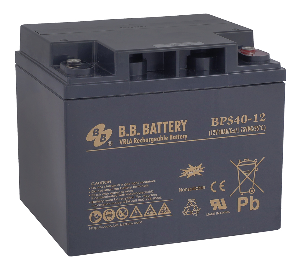 Батарея для ИБП B.B.Battery BPS 40-12 цена в Москве и Питере
