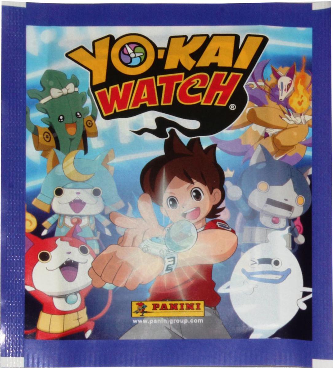 Набор наклеек Panini Yokai Watch / Время Йо-Кай, 5 шт кай метов кай метов лучшие хиты