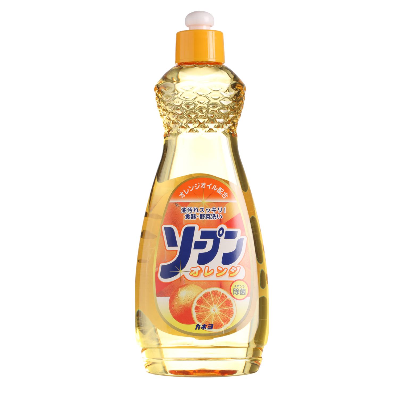 Жидкость для мытья посуды Kaneyo, сладкий апельсин, 600 мл жидкость для дезинфекции рук flamingo bay