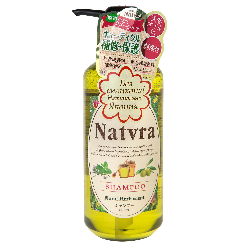 Шампунь для волос Natvra Japan Gateway, без силикона, 500 мл шампунь japan gateway japan gateway ja023lwuuk26